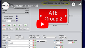 Tutorial about SignStudio